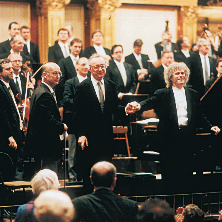 Alfred Brendel, Sir Simon Rattle, Musikverein Wien