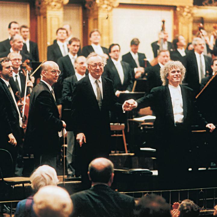Alfred Brendel, Sir Simon Rattle, Musikverein Wien