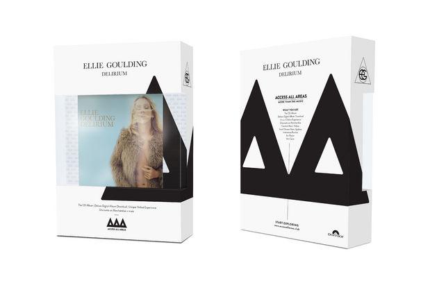 Ellie Goulding, AAA-Edition Delirium