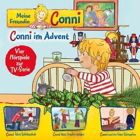 Conni, 10: Conni im Advent/Schlittschuh/Drachen/Schnupfen, 00602537991907