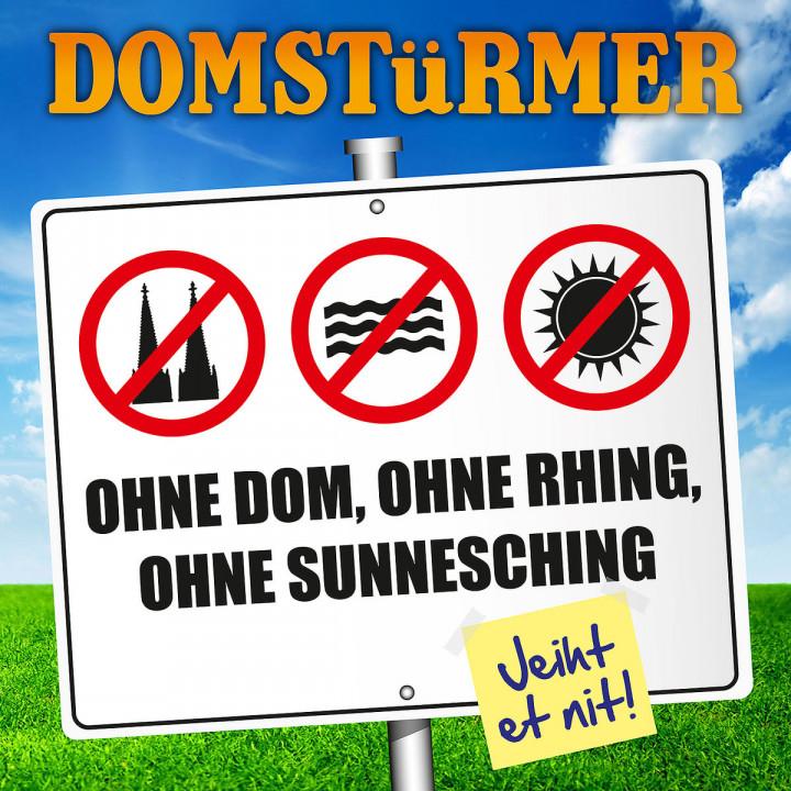 Ohne Dom ohne Rhing ohne Sunnesching
