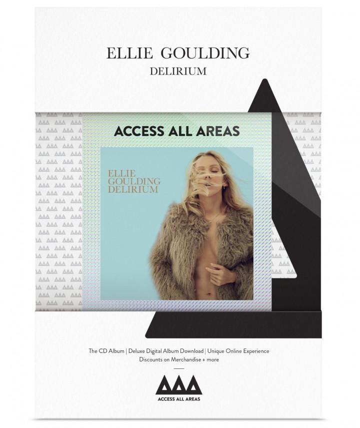 Ellie Goulding Delirium Access All Areas Fan Edition