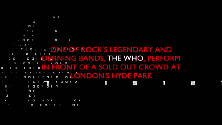The Who - Live In Hyde Park Trailer