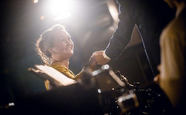 Julia Lezhneva, Barock im Club – Julia Lezhneva stellte ihr neues Album Händel in der Yellow-Lounge vor