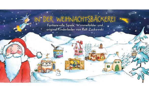 Rolf Zuckowski, Der Rolf Zuckowski Klassiker In der Weihnachtsbäckerei jetzt auch als App für Kinder und die ganze Familie