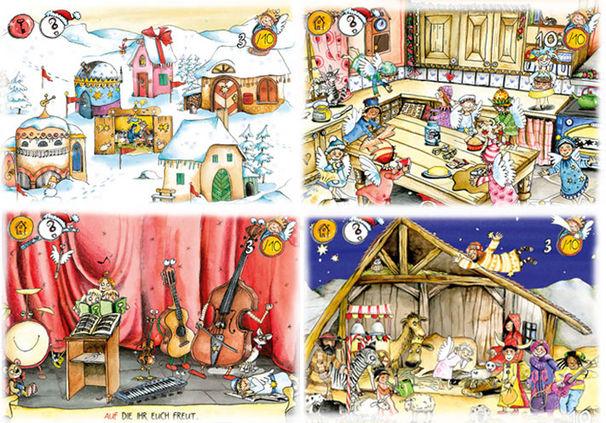 Rolf Zuckowski, Weihnachtsbäckerei_Kollage