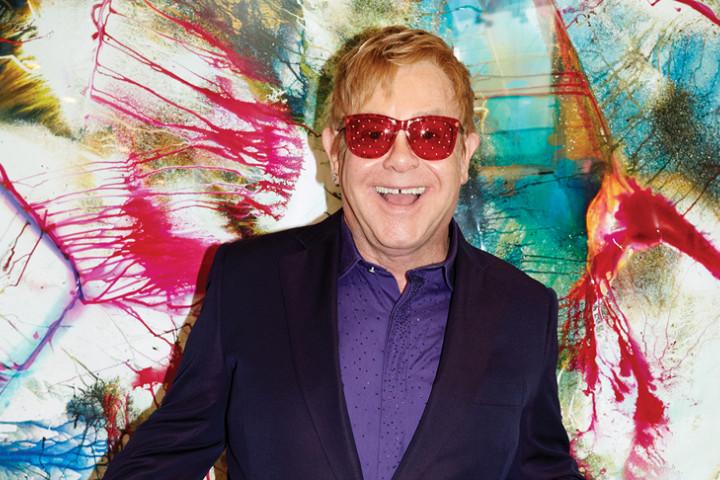 Elton John Wonderful Crazy Night 2015
