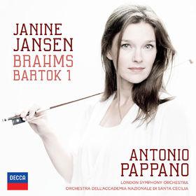 Janine Jansen, Brahms: Violin Concerto; Bartók: Violin Concerto No.1, 00028947884132