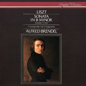 Alfred Brendel, Liszt: Piano Sonata in B minor; Légendes; La lugubre Gondola, 00028941004024