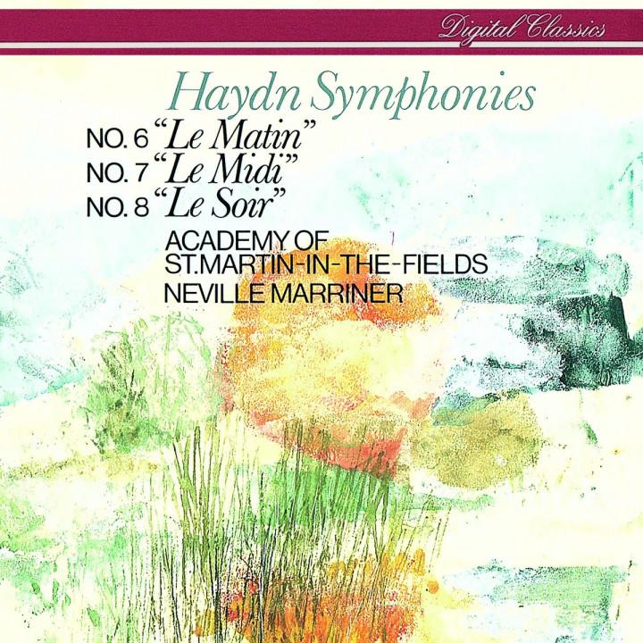 Haydn: Symphonies Nos. 6, 7, & 8
