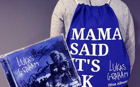 Lukas Graham, Gewinnt Lukas Graham Fanpakete mit signierten Album-CDs und Turnbeuteln