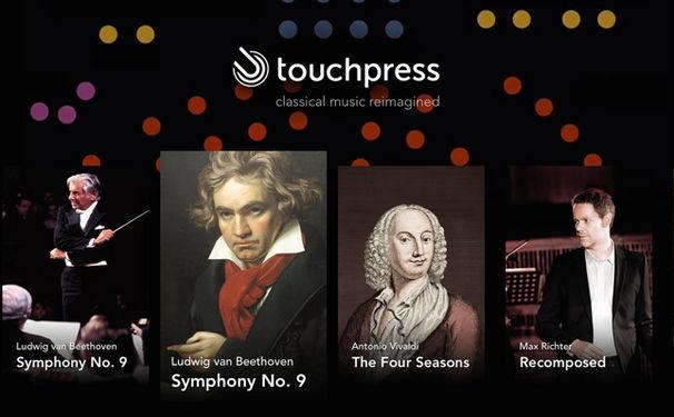 Diverse Künstler, Multimediales Musikerlebnis - Die Apple TV Klassik App