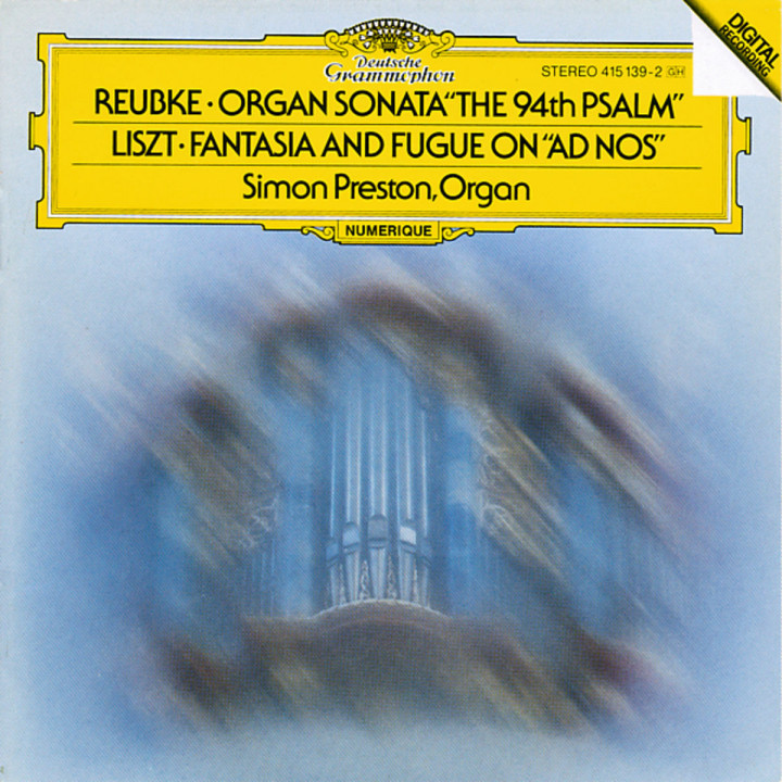 Reubke: The 94th Psalm / Liszt: Fantasy and Fugue on Ad