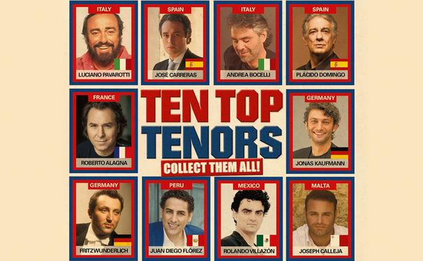 Diverse Künstler, Genuss hoch zehn - das Doppelalbum Ten Top Tenors