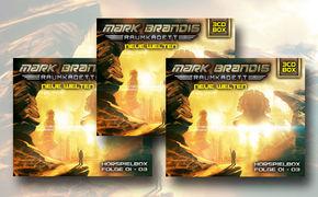 Mark Brandis, Mark Brandis – Raumkadett: Gewinnt die 3-CD Hörspielbox Neue Welten