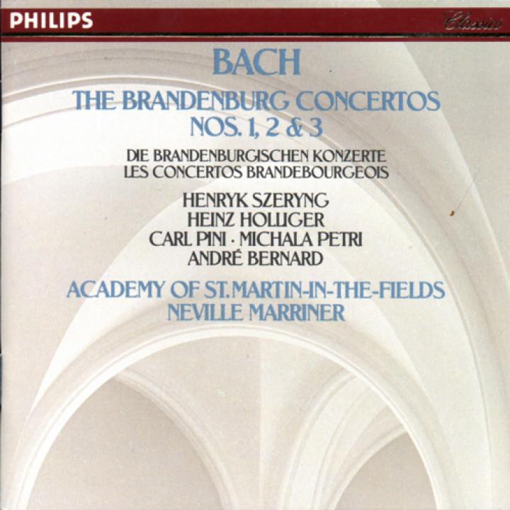 Johann Sebastian Bach.: Brandenburg Concertos Nos.1,2 & 3