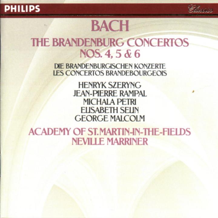 Johann Sebastian Bach: Brandenburg Concertos Nos.4, 5 & 6