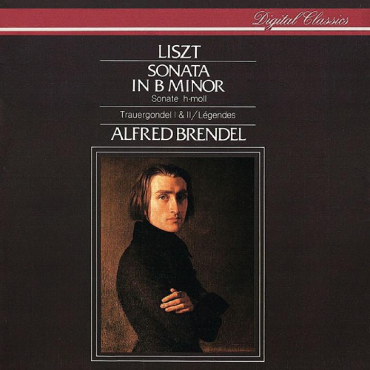 Liszt: Sonata in B minor/Légendes/La lugubre Gondola
