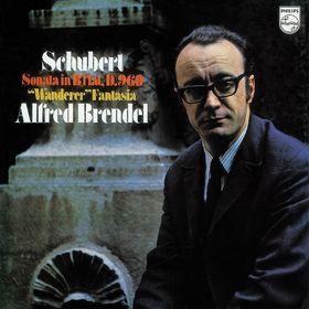 Alfred Brendel, Schuberts Klaviersonate in B-Dur (B 960) / Wanderer-Fantasie, 00028947892724