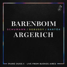 Daniel Barenboim, Piano Duos II - Schumann, Debussy, Bartók, 00028948121670