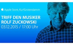 Rolf Zuckowski, Apple Store Event am 3.12. mit Rolf Zuckowski – die neue Weihnachtsbäckerei-App