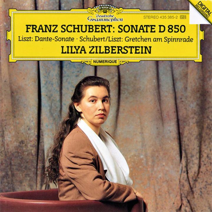 Schubert/Liszt: Gretchen Am Spinnrade D.118 / Liszt: Dante Sonata From Années de pèlerinage / Schubert: Piano Sonata In D Major D.850