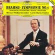 Carlo Maria Giulini, Brahms: Symphony No.4; Tragic Overture, 00028942940321