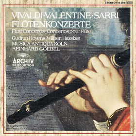 Musica Antiqua Köln, Vivaldi / Valentine / Sarri: Flute Concertos, 00028941529923