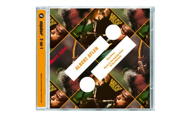 Impulse 2-on-1, Zwei Alben auf einer CD - Wie Albert Ayler R'n'B und Rock auf den Kopf stellte
