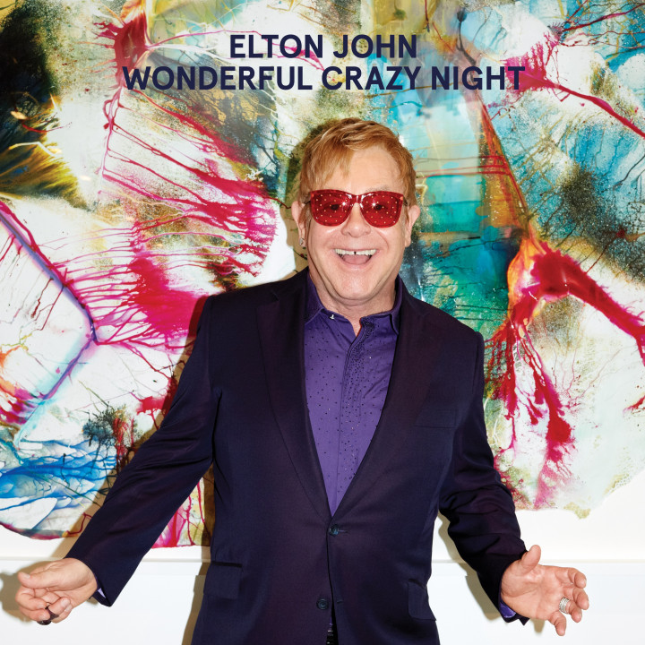 Elton John Wonderful Crazy Night Albumcover