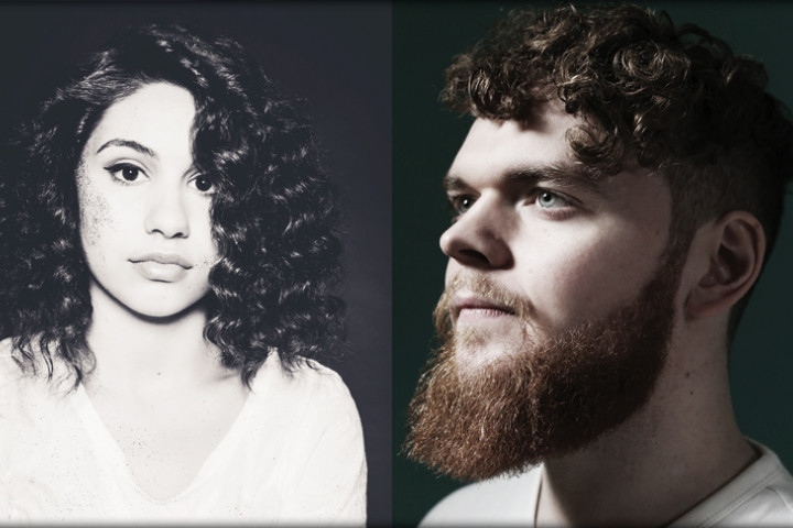 Collage Alessia Cara & Jack Garratt