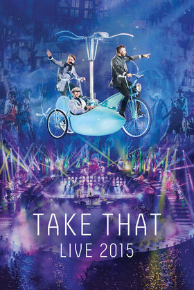 Take That, Live 2015, 00602547589439