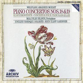 John Eliot Gardiner, Mozart, W.A.: Piano Concertos Nos.18 & 19, 00028941511126