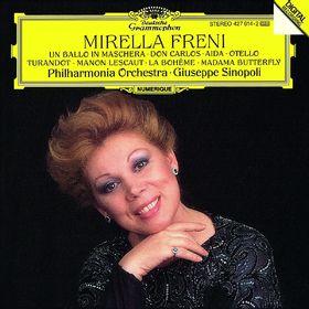 Giuseppe Sinopoli, Mirella Freni -  Un ballo in maschera; Don Carlos; Aida; Otello; Turandot; Manon Lescaut; La Bohème; Madama Butterfly, 00028942761421