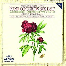 John Eliot Gardiner, Mozart, W.A.: Piano Concertos Nos.16 & 17, 00028941552525