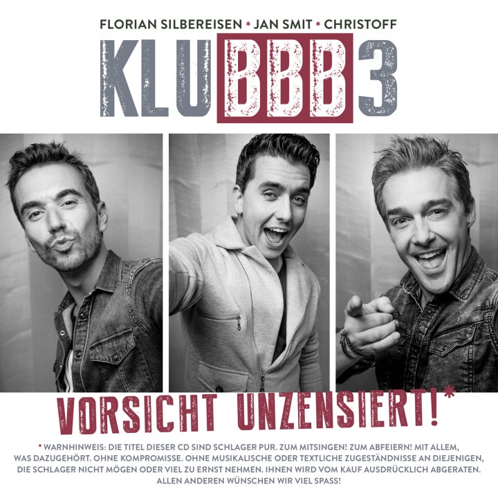 KLUBBB3 Vorsicht unzensiert Cover