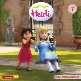Heidi, 07: Heidi soll lesen lernen u.a. (CGI), 00600753661307