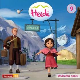 Heidi, 09: Heidi kehrt zurück u.a. (CGI), 00600753661260