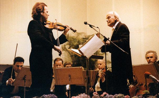 Daniel Hope, Daniel Hope präsentiert sein neues Album My Tribute to Yehudi Menuhin live beim NDR und beim rbb