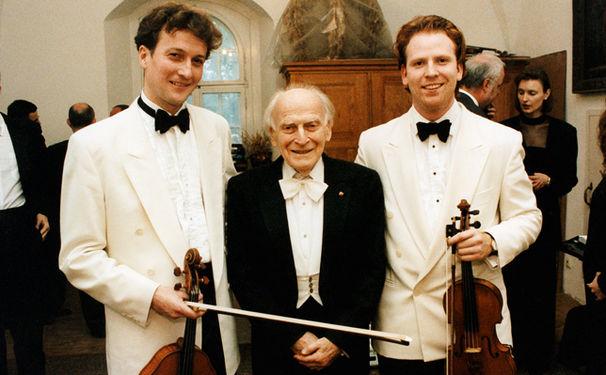 Yehudi Menuhin, Große Kunst zu Ehren Yehudi Menuhins