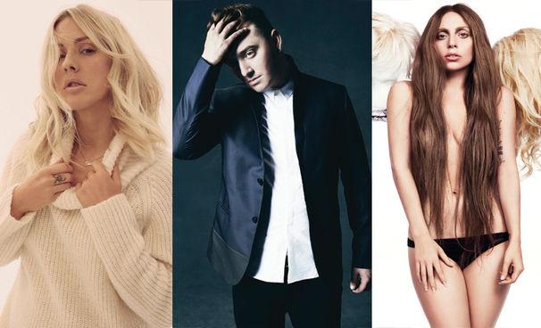 Lady Gaga, Nominiert für die Golden Globe Awards 2016: Ellie Goulding, Sam Smith, Brian Wilson und Lady Gaga dürfen sich Hoffnungen machen