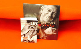 Keith Richards, Life zum Lesen: Hier mitmachen und Keith-Richards-Biografien inklusive seines Albums Crosseyed Heart gewinnen