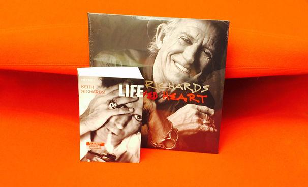 Keith Richards, Keith Richards-Fans aufgepasst: Sichert euch ein Fanpaket des Rolling Stones-Gitarristen inklusive Biografie Life