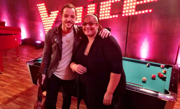 James Morrison, James Morrison tritt gemeinsam mit Tiffany beim Finale von The Voice Of Germany 2015 auf