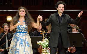 Rolando Villazón, Fulminantes Finale - Rolando Villazón mit Cecilia Bartoli auf der Bühne und auf CD
