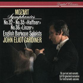 John Eliot Gardiner, Mozart: Symphonies Nos. 32, 35 & 36, 00028947889793