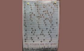 Various Artists, Zweimal elegantes Swing-Poster zu gewinnen
