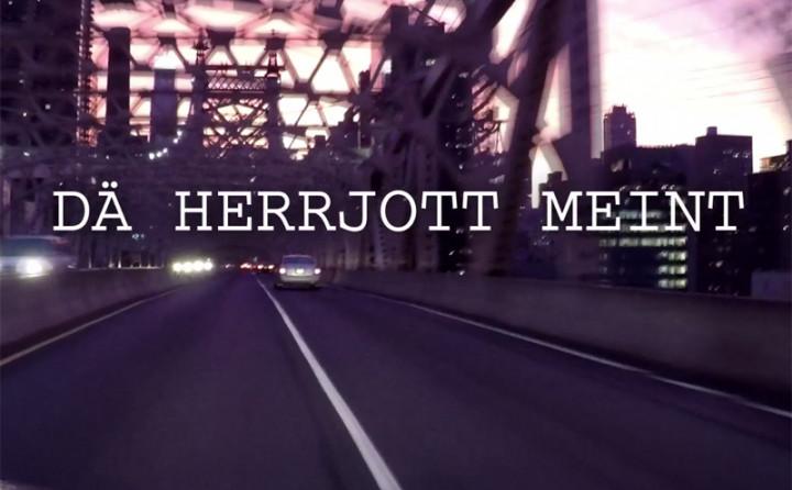 Dä Herrjott meint et joot met mir (Lyric Video)