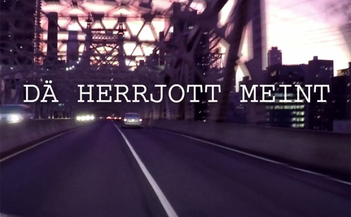 Dä Herrjott meint et joot met mir (Lyric Video)