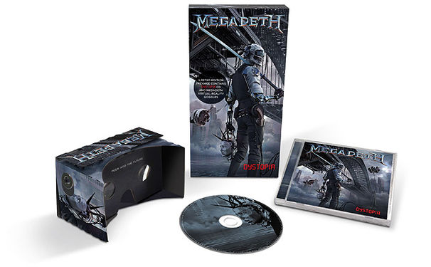 Megadeth, Megadeth starten virtual reality Erlebnis für Dystopia